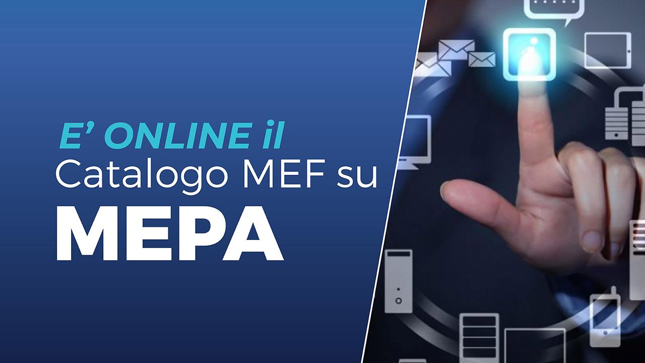 Catalogo Mef su MEPA